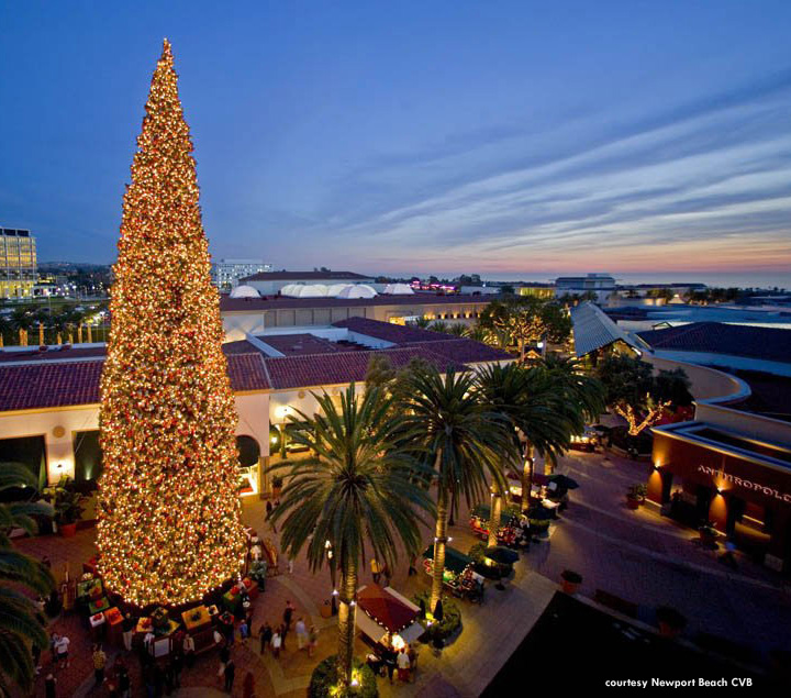 fashion island tree lighting